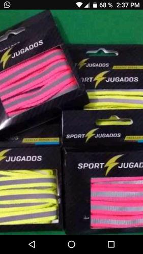 trenzas para zapatos deportivos fluorescentes