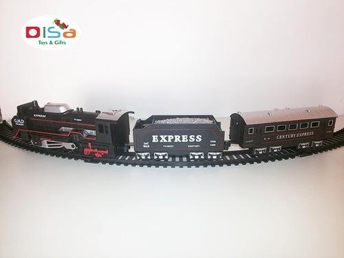 trenzinho elétrico 19 pcs trem rail king ferrorama