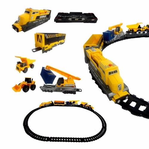 trenzinho iron diesel train caterpillar trem cat dtc