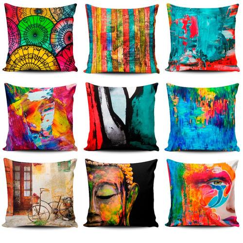 tres (3) cojines decorativos tayrona store + de 1000 diseños