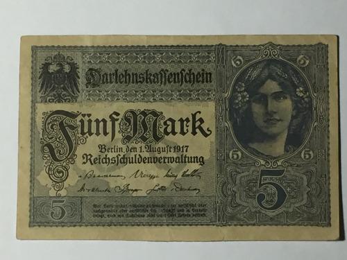 tres billetes coleccionables de alemania mark.