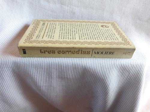 tres comedias moliere ed. javier hernandez editora nacional