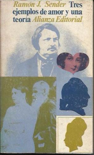 tres ejemplos de amor y una teoria - sender