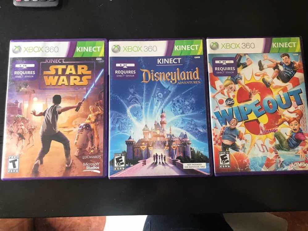 Tres Juegos Para Kinect Xbox 360 Originales Y Perfecto Estad
