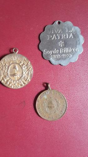tres medallas argentinas, fotos, mt001