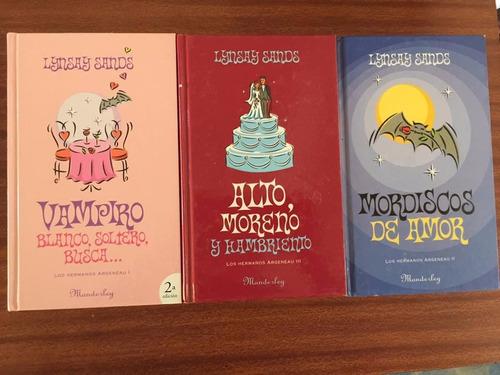 tres novelas de lynsay sands (vampiros, humor)