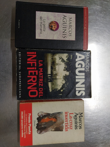 tres novelas de marcos aguinis en vicente lopez