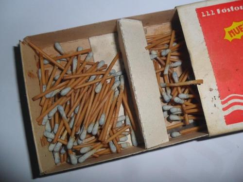 tres patitos caja fosforo cerillo sudamericana cajita