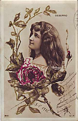 tres postales del 1905 c/u 50 pesos.