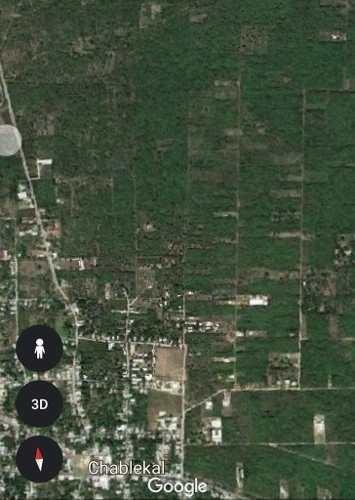 tres terrenos en venta cada uno $600,000 chablekal-tixcuytun