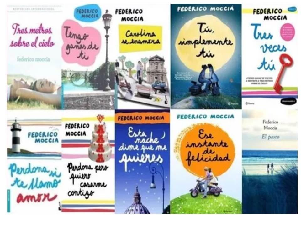 Tres Veces Tu + Colección Federico Moccia (10 Libros) Pdf ...  @tataya.com.mx