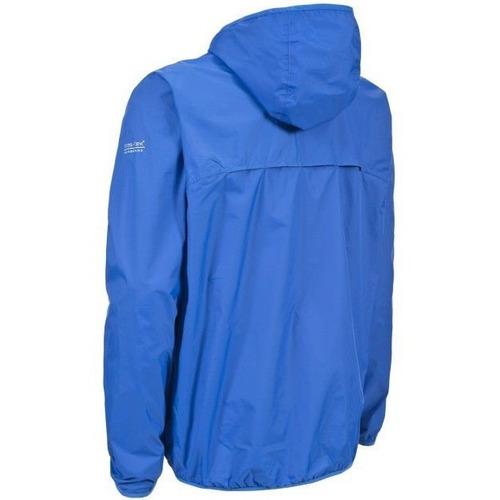trespass fastrack chaqueta impermeable unisex con capucha, l