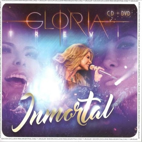 trevi gloria inmortal cd + dvd nuevo