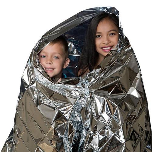 trevo manta térmica para supervivencia, carreras de aventura