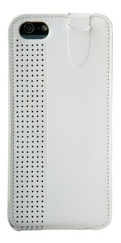trexta 17916 elegante de cuero de tirón para el iphone 5 y