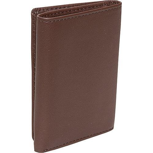 tri fold wallet hombres de cuero de royce en cuero genuino