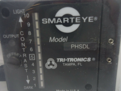 tri-tronics phsdlf1 photoelectric sensor