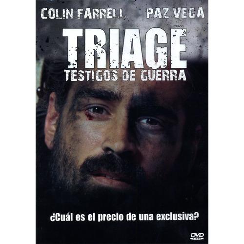 triage testigos de guerra colin farrell pelicula en dvd