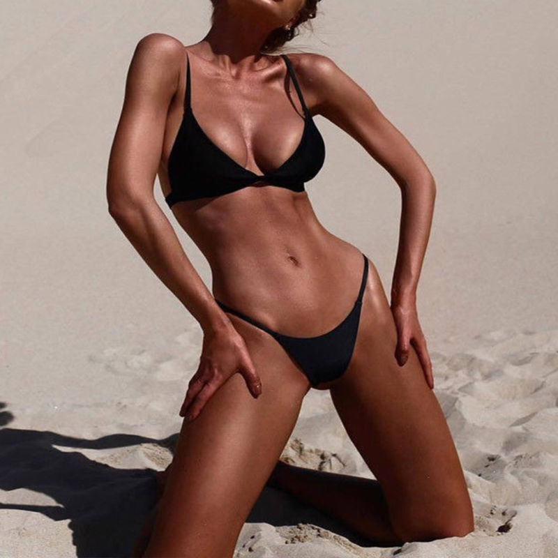 e6e4492f7b788 Triángulo Bikini De Las Mujeres Brasileñas Conjunto Push Up ...