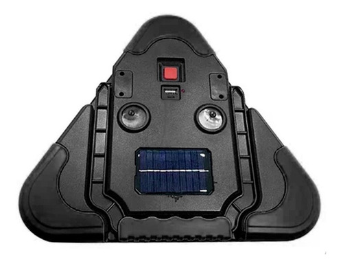 triangulo con luz de emergencia carro recargable solar led