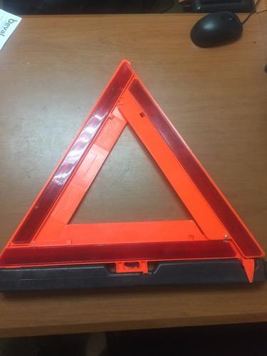 triangulo de arena seguridad reflectivo para vehiculos con e