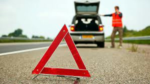 triangulo de seguridad