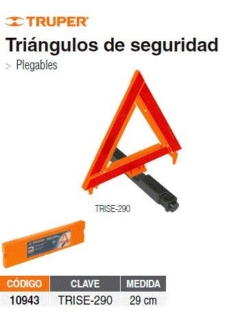 triángulo de seguridad truper 10943 super precio sertevo