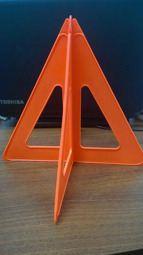 triangulos de seguridad fosforecentes vehiculos