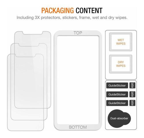 trianium 3 paquetes protector de pantalla dise
