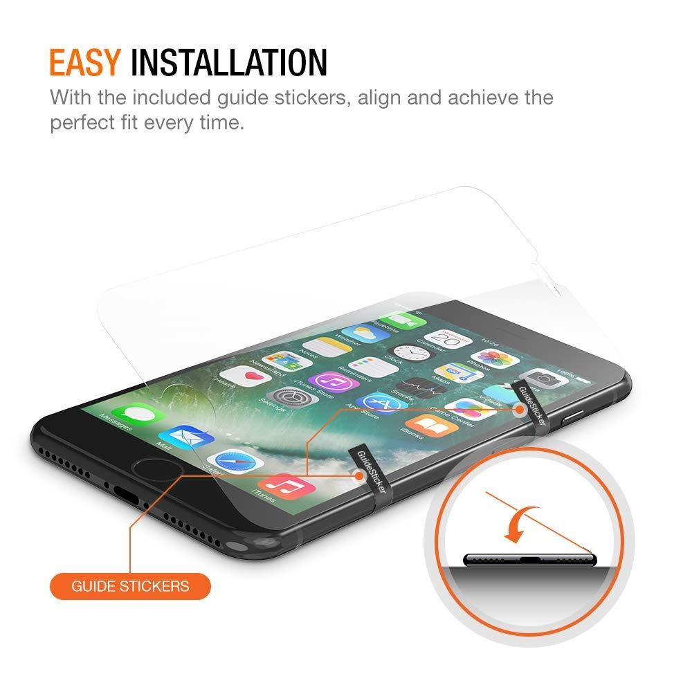 sneakers for cheap d39a2 55825 Trianium Screen Protector For iPhone 8/7 (funda Friendly) 0.