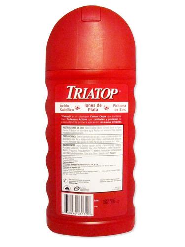 triatop - shampoo control caspa x 400 ml
