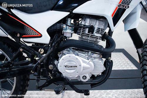 triax 250 enduro moto corven