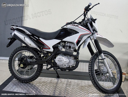 triax 250 motos moto enduro corven