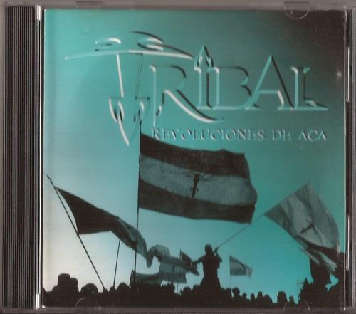 tribal cd revoluciones de aca cd original