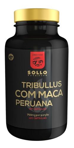tribullus terrestris e maca peruana 120 cáps- libido