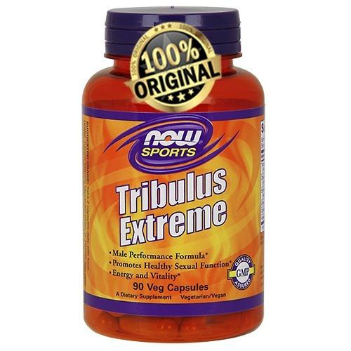 tribulus extreme now sports - 90caps - original - promoção!