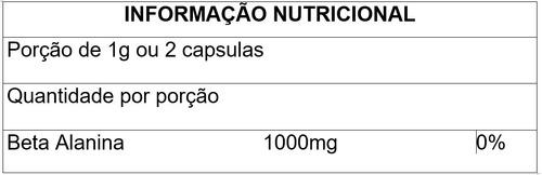 tribulus terrestris 1000mg + beta alanina 500mg - 100% puro!
