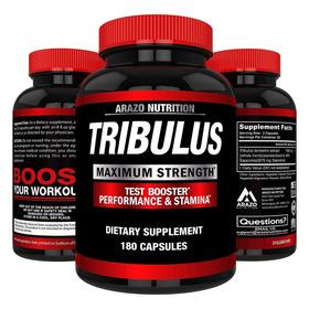 Tribulus Terrestris 1500mg. 180 Caps. Aumento De Testosteron