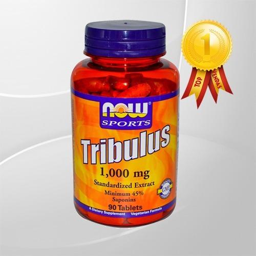 tribulus terrestris now 90 tabs 1000mg 45% saponins 5 estrel