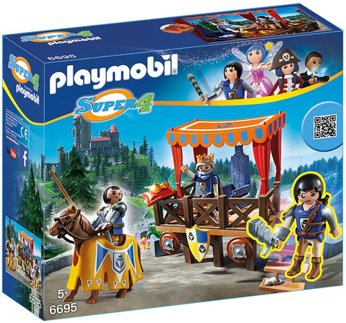 tribuna real con alex juguete playmobil r5235