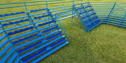 tribunas tubulares gradas estructuras plateas palcos escalon