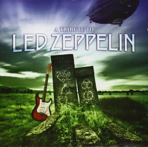tribute to led zeppelin varios interpretes cd nuevo