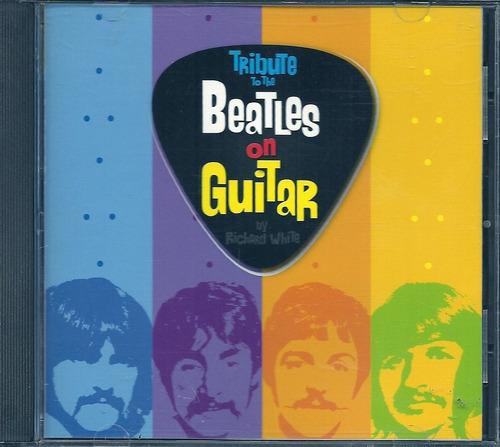 tribute to the beatles on guitar cd original