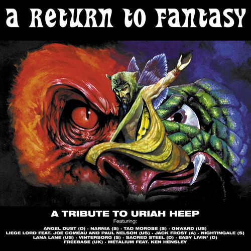 tribute to uriah heep - angel dust vintersorg narnia lana
