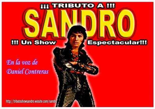 tributo a sandro un show espectacular!!!
