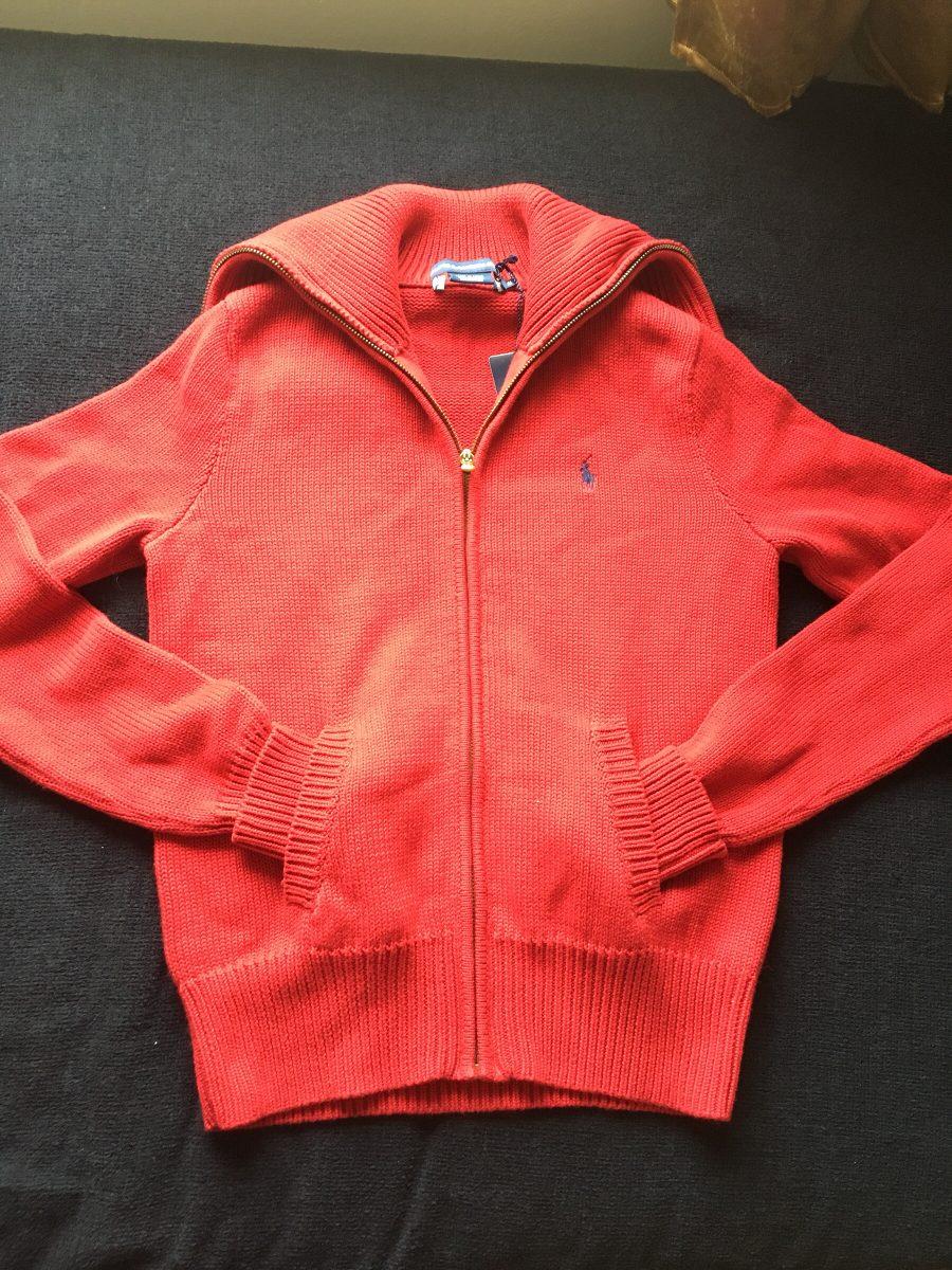 tricô algodão vermelho original polo ralph lauren tamanho p. Carregando  zoom. 3c1a213235a