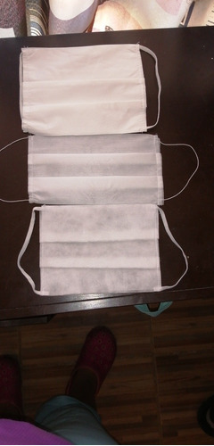 tricapa plisado cosido