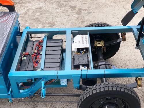 tricargo electrico sunra a bateria  72v  1500w hasta 400kg
