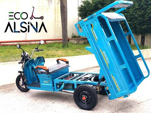 tricargo electrico zanella 0km / caja volcadora
