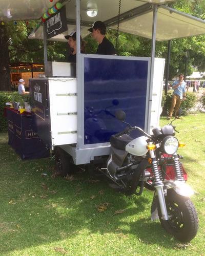 tricargo zanella z-max 200 z4 ultilitario food truck cargo